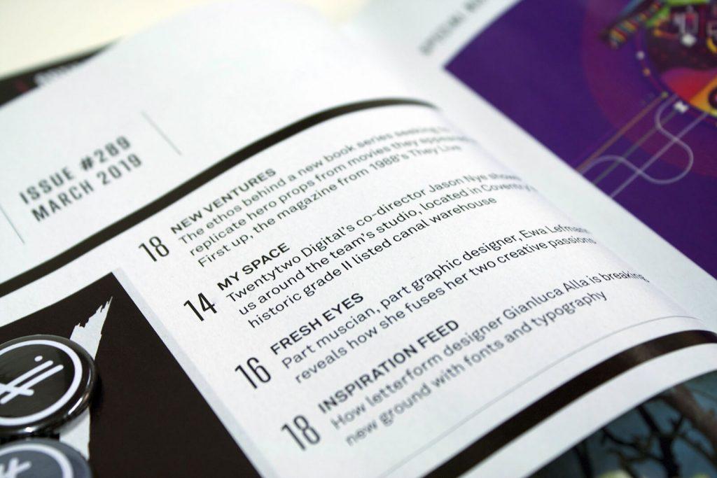 As featured in    Computer Arts Magazine - Twentytwo