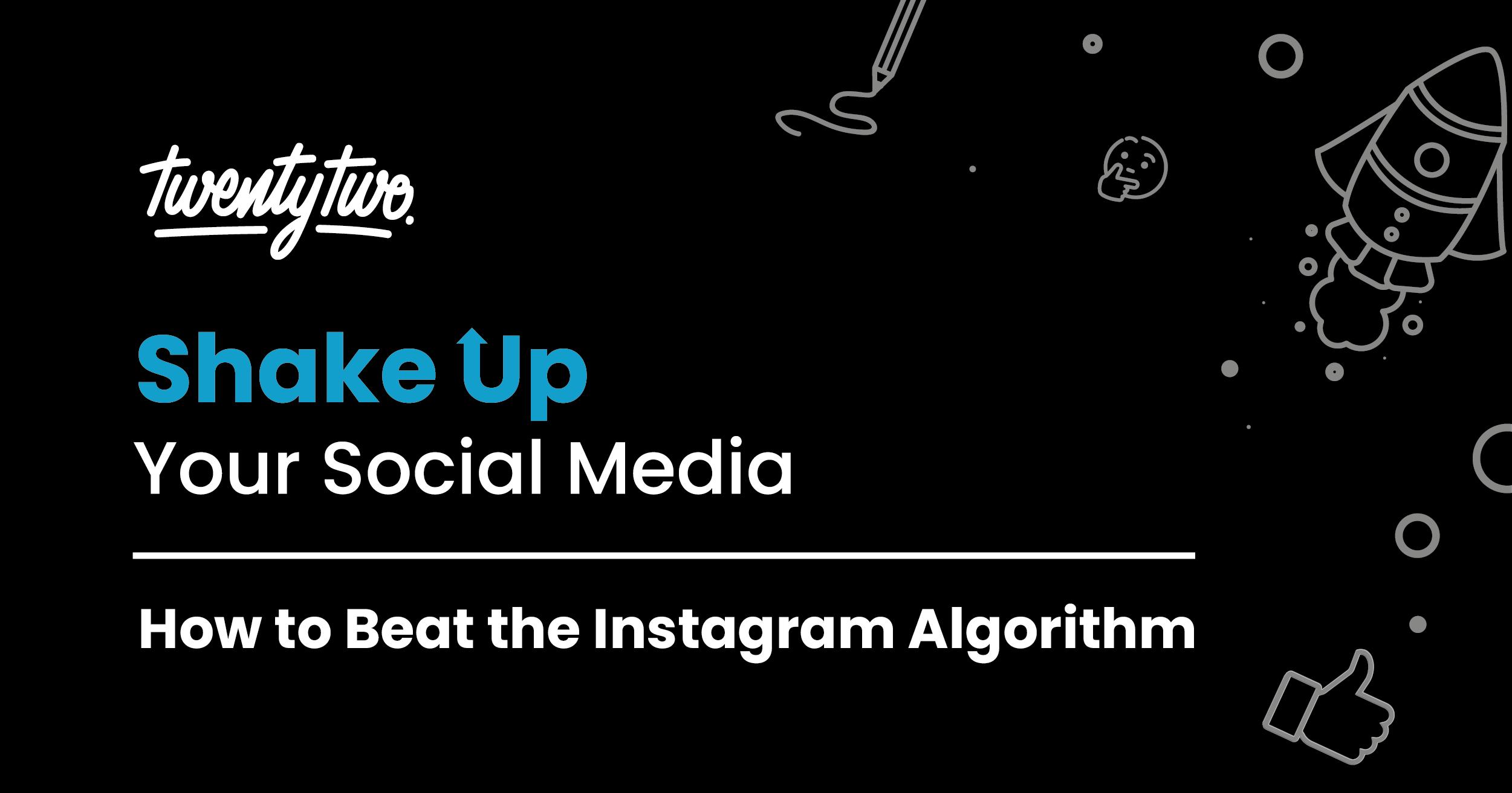 shake up your social media header