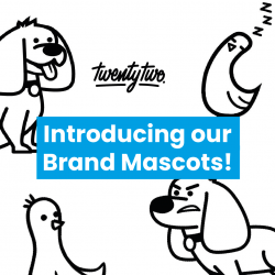 Introducing Our New Brand Mascots